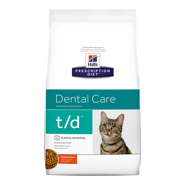 Hill's® Prescription Diet® Cat t/d® 8.5lb Bag