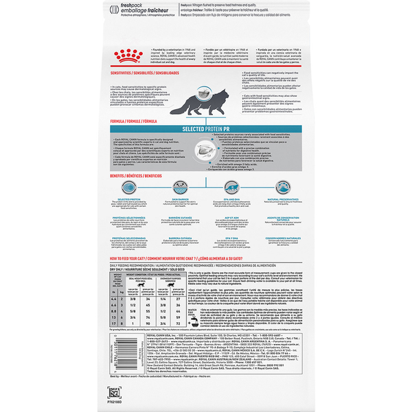 Royal Canin Cat  Selected Protein PR Diet Dry 8.8 lb Bag