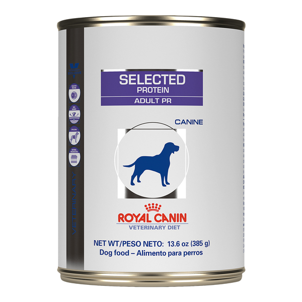 Royal Canin Dog  Selected Protein Adult PR Diet Canned 13.6 oz 24pk