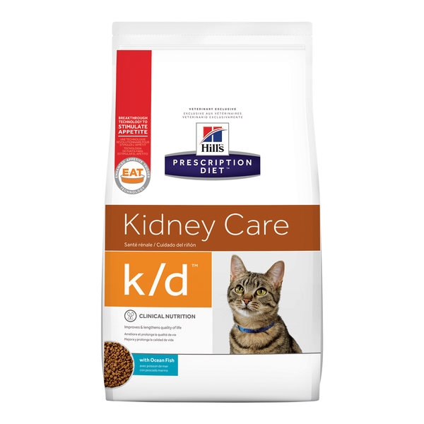 Hill's® Prescription Diet® Cat k/d® with Ocean Fish 8.5lb bag