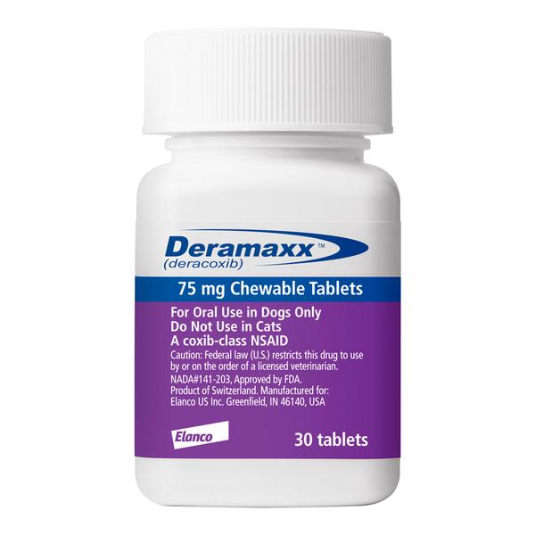 Deramaxx® Chew Tablets 75 mg 30ct