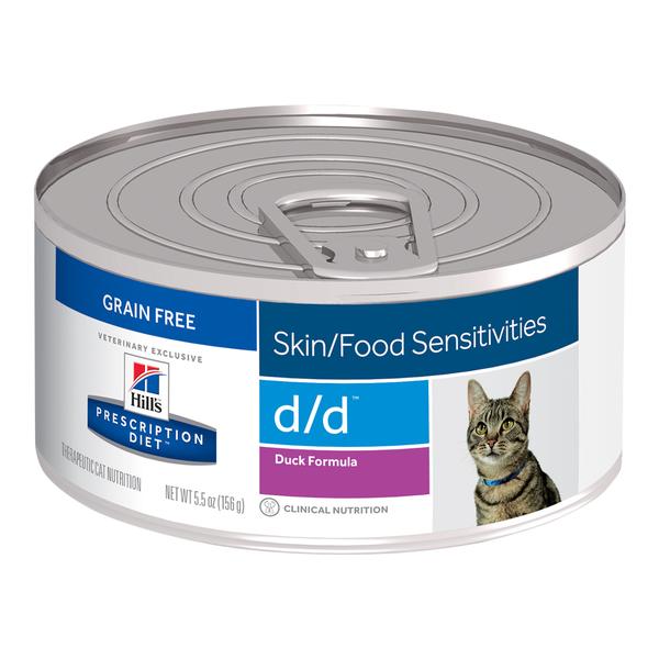 Hill's® Prescription Diet® Cat d/d® Duck 5.5oz 24 pack