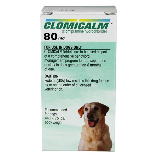 Clomicalm® Tablets 80mg 30ct 3pk
