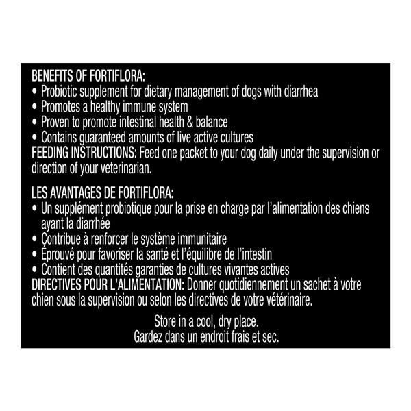 FortiFlora® Dog 30 packets