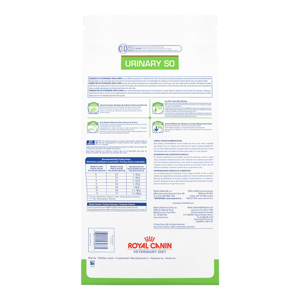 Royal Canin Cat Urinary SO Diet Dry 17.6lb bag
