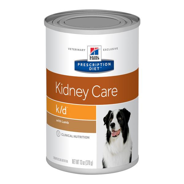 Hill's® Prescription Diet® Dog k/d® with Chicken 13oz Can 12pk