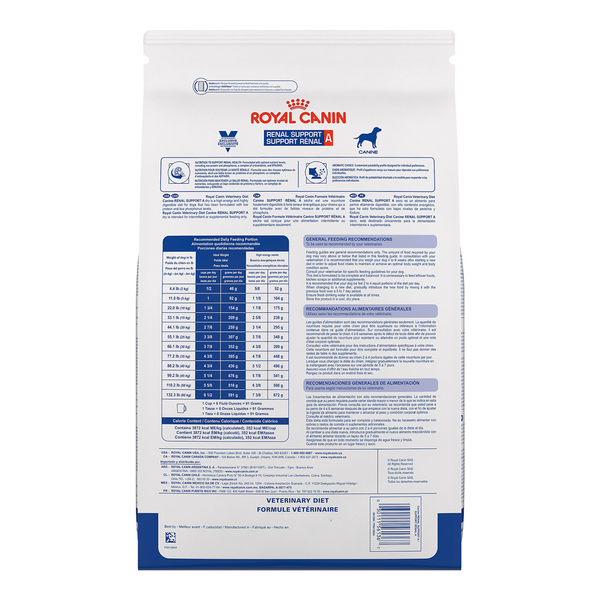Royal Canin Dog Renal Support A™ 17.6lb bag